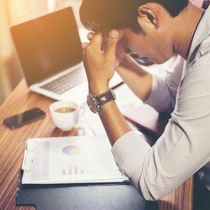 Estrés: Indicadores y algunas de sus causas.